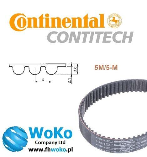 Correa Contitech 295-5M//12mm 295-5M-12 HTD continental de 12 mm 295-5m