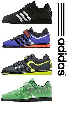 adidas Power Lift 2.0 Weightlifting Shoes Deadlift Squats Strongman Sport   eBay