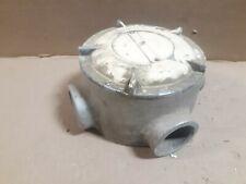 Killark Gejxt 5 1 12 Npt 4 Way Explosion Proof Aluminum Outlet Body S8g