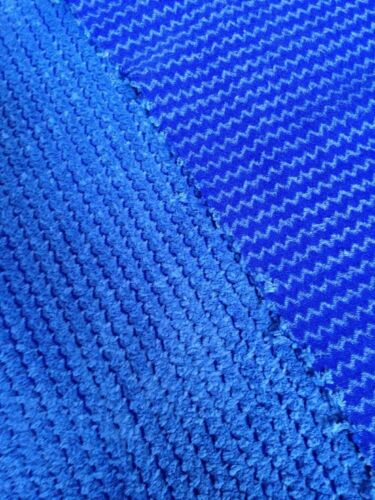 Free P+P 10m Job Lots Of Cobalt Blue ZigZag Jumbo Cord