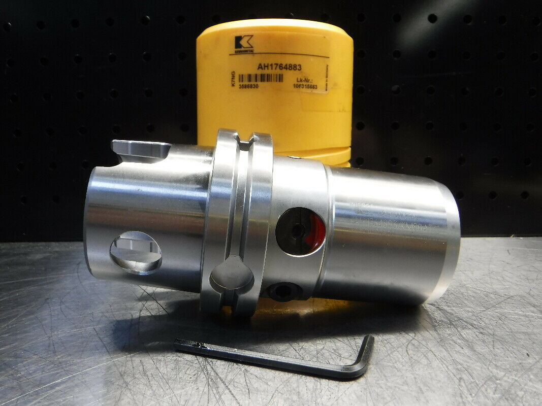 "Kennametal CAT40 12mm Hydraulic Tool Holder 3.75/"" PRO CV40BHCT12M375 LOC1868C"