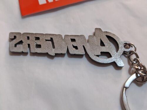 Marvel Comics The AVENGERS LOGO Letters Movie metal Keychain cosplay silver USA