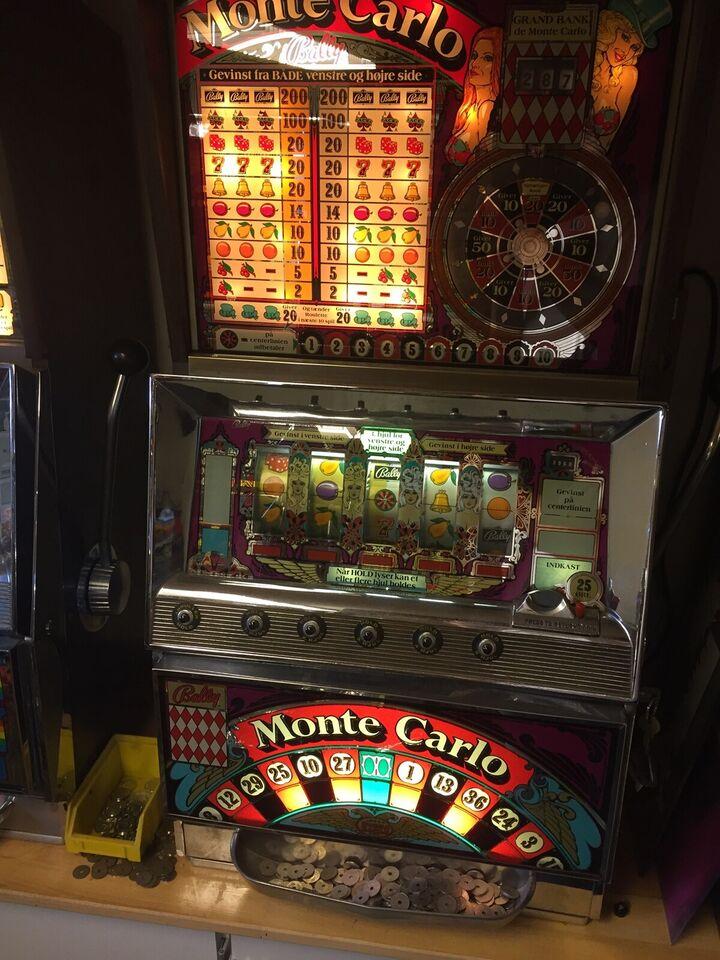 Spillemaskiner, spilleautomat, Defekt