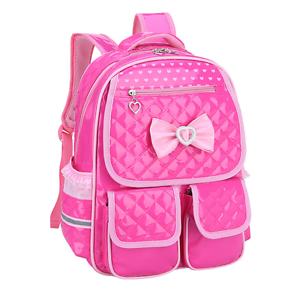 Kids Waterproof Schoolbag 4 Pink Backpacks For Girls Cute School ...