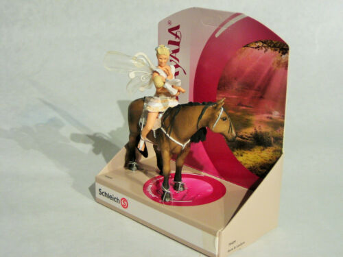Schleich Bayala 70409 Iloris et Leolynn avec cheval tabassant Nouveau neuf dans sa boîte