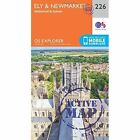Ely and Newmarket, Mildenhall and Soham by Ordnance Survey (Sheet map, folded, 2015)