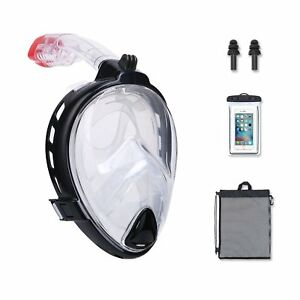 Beats-Seaview-180-GoPro-Compatible-Snorkel-Mask-Panoramic-Full-Face-Large-View