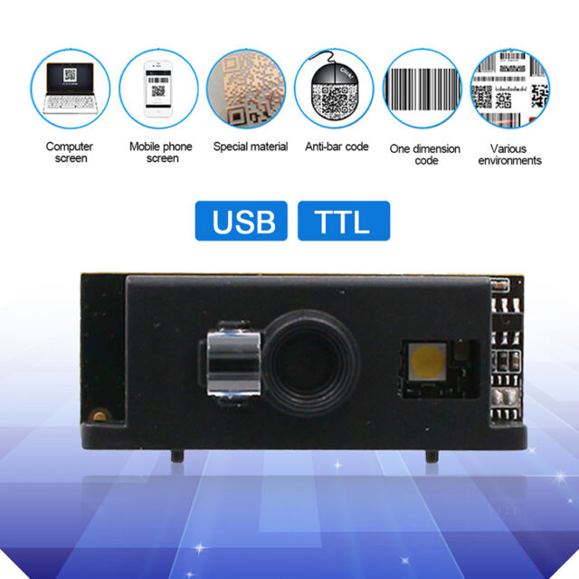 High Performance CCD Sensor 1D/2D Barcode Scanner Bar Code Reader TTL/B  Module