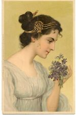 CARTE POSTALE / POSTCARD / ILLUSTRATEUR MEISSNER & BUCH FEMME LADY