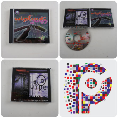 Wipeout 2097 A Psygnosis Game for Amiga PPC 3D Graphics CD new old stock