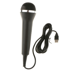 Details about USB Wired Microphone for PS4 PS3 Xbox One 360 RockBand  Karaoke Singing Game