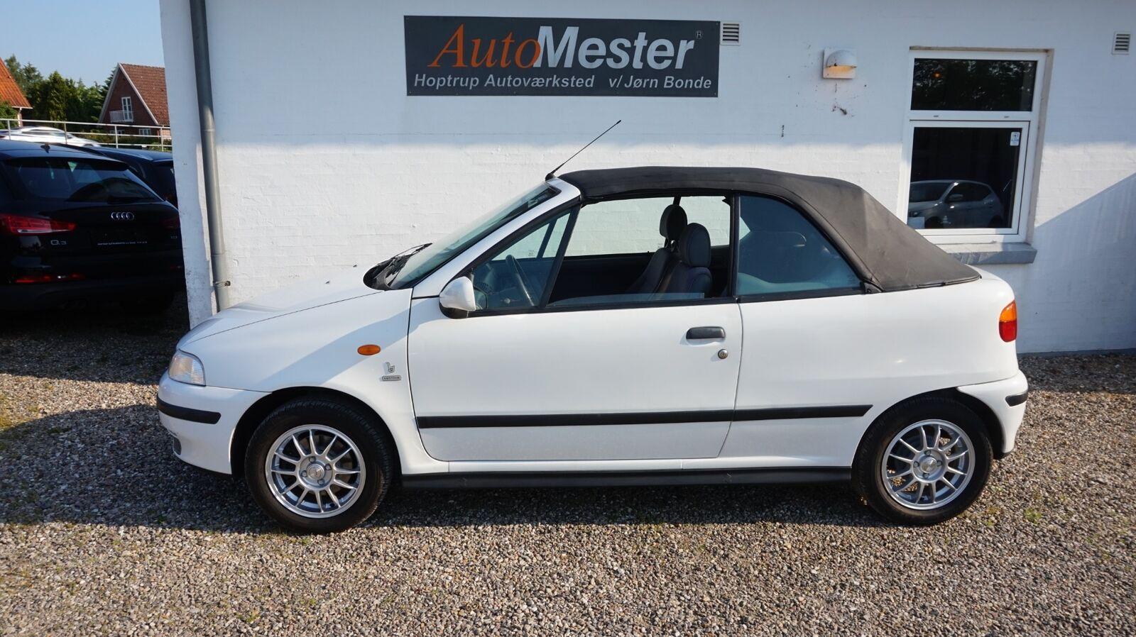Fiat Punto 1,6 90 ELX Cabriolet 2d