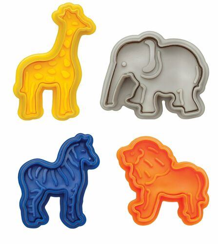 Harold Mrs Anderson/'s Baking Animal Cracker Cookie Pastry Biscuit Cutters 4-Pack