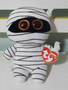 Ty-Beanie-Babies-Boos-37234-Mummy-the-White-Mummy-Halloween-Boo-15CM
