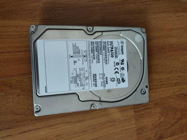 """Seagate Cheetah 10K.6 73.4GB 3.5"""" (ST373307LC) SCSI Internal HDD"""
