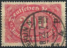 MiNr. 248b geprüft WEINBUCH BPP und gestempelt in BERLIN N