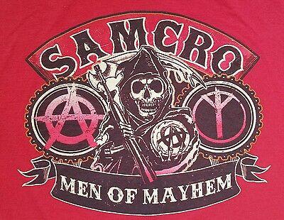 SAMCRO Men Of Mayhem Hoodie S-XXL Official Licensed Sons Of Anarchy Black