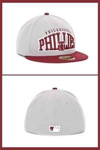 uk availability efdd1 1c90e Image is loading New-Era-59FIFTY-Philadelphia-Phillies-High-Heat-Cap-