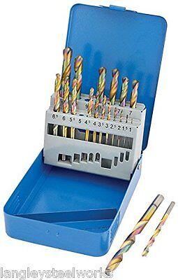 Draper 19 piece Cobalt Coated Metric HSS Drill Bit Set 35244