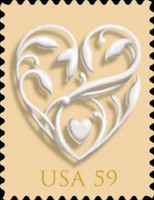 2008 59c Special Issues, Weddings Scott 4272 Mint F/VF