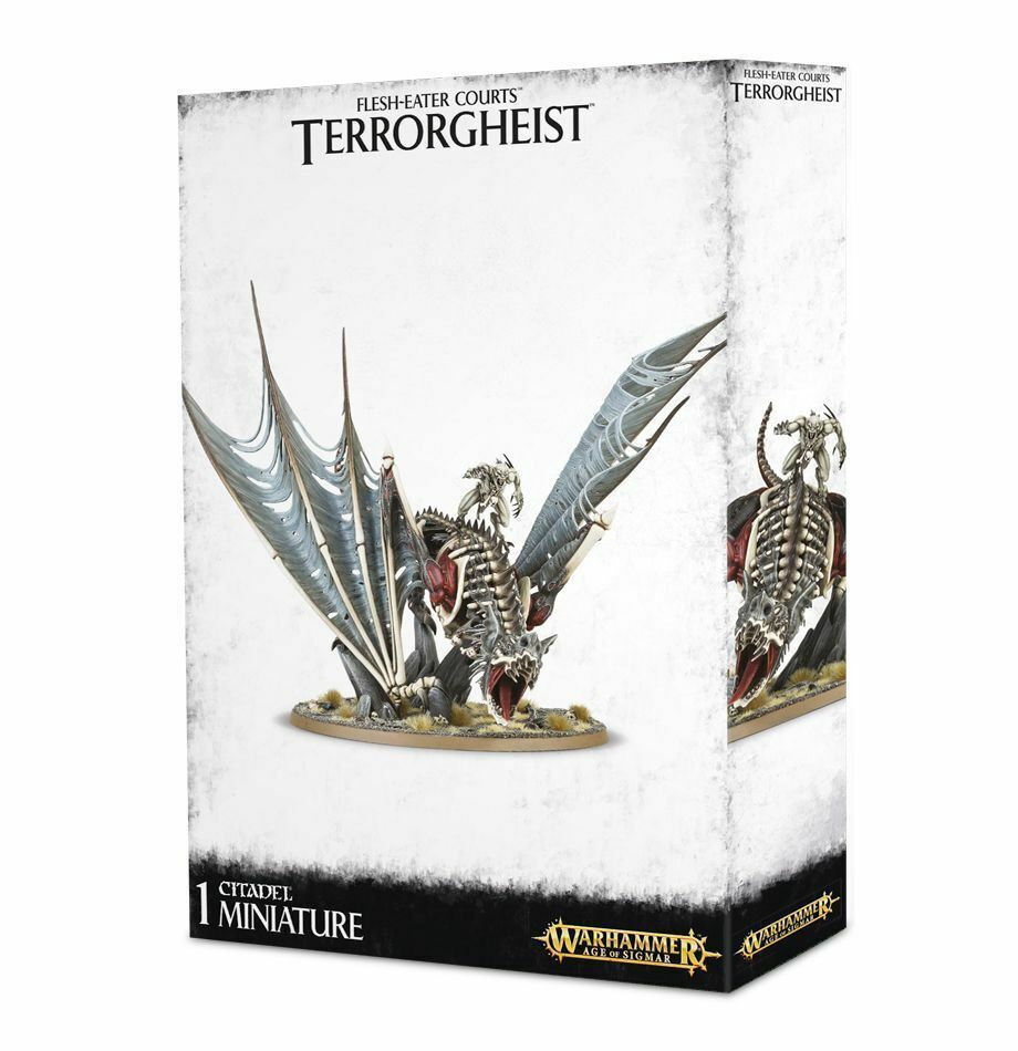 Warhammer AoS Flesh-eater Courts Terrorgheist Vhordrai Ghoul Lord Zombie Dragon