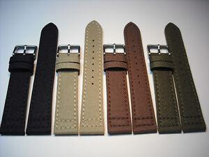 Uhrenarmband-Canvas-Textilband-Fa-Eulit