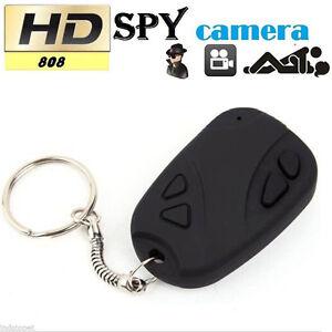 HD 808 Camcorder Car Key Chain Video SPY Camera DVR Cam Video Recorder pen EO
