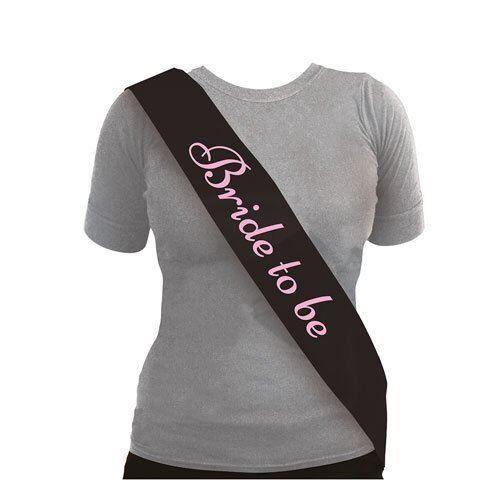 * noir avec rose Enterrement Vie Jeune Fille Écharpe écharpes Girls Night Out
