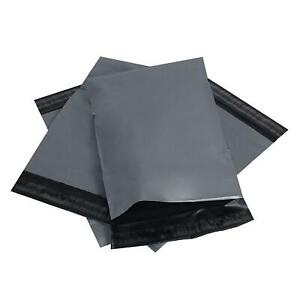12-x-16-034-Grey-Mailing-Bags-Strong-Parcel-Postage-Plastic-Post-Poly-Self-Seal