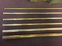Copper Tube Sold In Two Foot Pieces 1/2 O.d. Acr Hard Drawn Copper