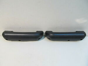 NEW-1968-1972-FORD-F100-F250-F350-TRUCK-BLACK-PADDED-DOOR-ARM-REST-PAIR