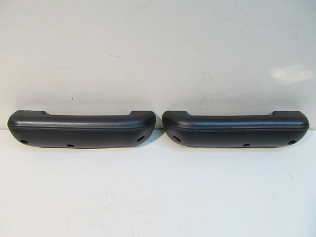 NEW 1968-1972 FORD F100, F250, F350 TRUCK BLACK PADDED DOOR ARM REST (PAIR)