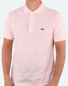 f8ba90cb Lacoste Classic Two Button Pique Polo Shirt in Pink - L.12.12 short ...