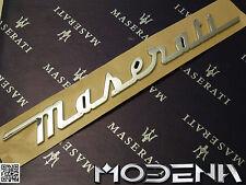 Maserati Schriftzug Kofferraum Trunk Emblem Sign Quattroporte QP V GranTurismo