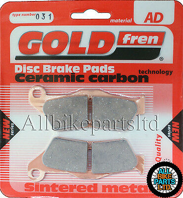 BMW R1200GS 'ADVENTURE' > SINTERED CERAMIC REAR BRAKE PADS < . AD031 FA363HH