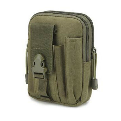 Tactical Molle Pouch Belt Waist Pack Bag Military Waist Fanny Pack Multi Pocket