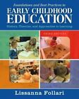 Foundations and Best Practices in Early Childhood Education 9780133570328