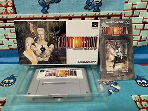 Front Mission Super Famicom Japan NTSC-J Squaresoft   eBay
