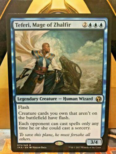 Mint Magic MTG Mage of Zhalfir Iconic Masters Near Mint Teferi