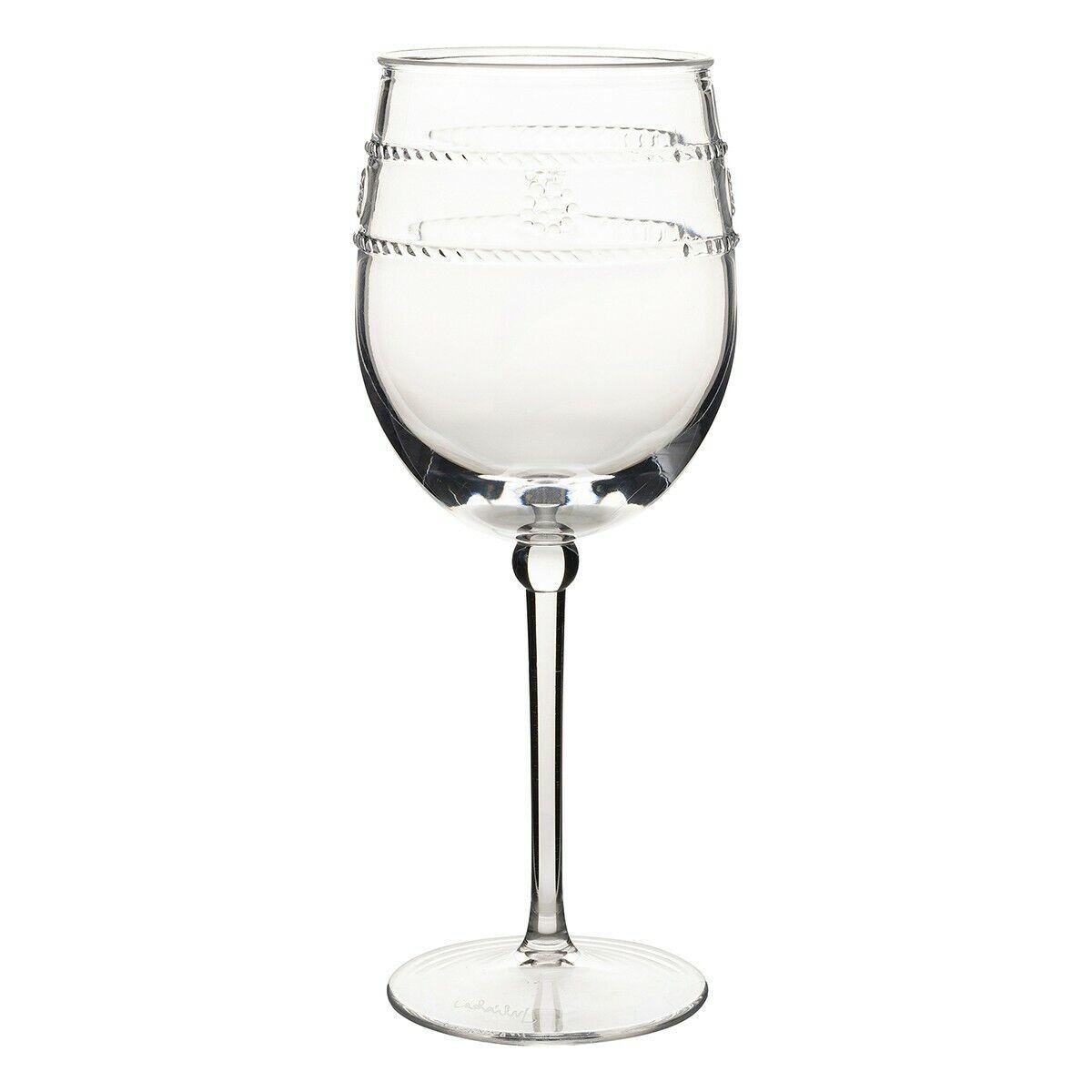 Juliska Isabella Acrylique Verre Vin-Set de 8