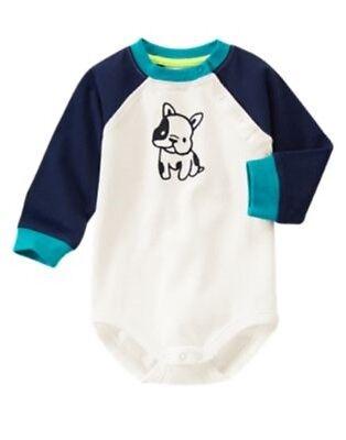 GYMBOREE BABY GIRAFFE YELLOW GIRAFFE SKIN PRINTED L//S BODYSUIT 3 6 12 18 24