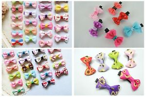 Baby-Girl-Hair-Clips-Infant-Toddler-Women-Flower-Hairpin-10-Pieces-Wholesale-New
