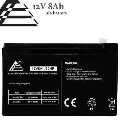 Titan Notebook 12V 8AH Sealed Lead Acid Battery for FiOS & UPS Backup Systems
