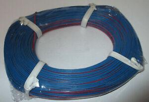 0-279-M-Conducteur-Jumele-Rouge-Bleu-50m-Nouveau