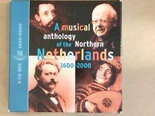 BOX 5 CD / MUSICAL ANTHOLOGY OF NORTHERN NETHERLANDS 1600-2000 / RARE / TB ETAT