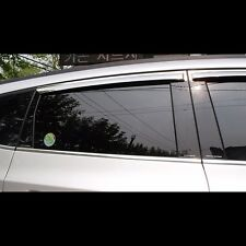 Black Door B Pillar Mirror Plate Molding For Chevrolet Orlando 2011~2015