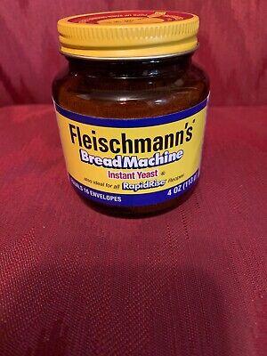 Fleischmann's Bread Machine Instant Yeast RapidRise 4 oz ...