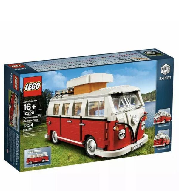 Lego 10220 Creator Expert VW Volkswagon T1 Camper Van Combi Car New Sealed Model