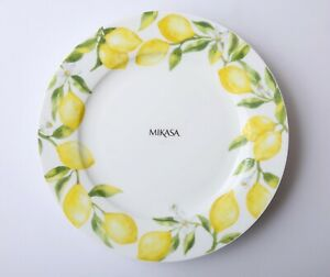 Set of 4 Vintage Mikasa Bon Jour Dinner Plates