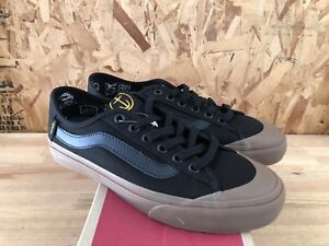 07e1d18e4511b3 Image is loading Vans-Black-Ball-SF-Captain-Fin-Black-Gum-